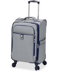 """London Fog - Oxford Hyperlight 21"""" Expandable Spinner Carry-on Suitcase - Lyst"""