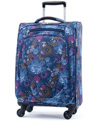 """Atlantic ® Infinity® Lite 4 21"""" Expandable Spinner Suitcase - Blue"""