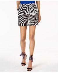 INC International Concepts - Trina Turk X I.n.c. Zebra Print Shorts, Created For Macy's - Lyst