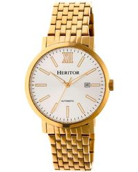 Heritor - Automatic Bristol Gold & Silver Stainless Steel Watches 43mm - Lyst
