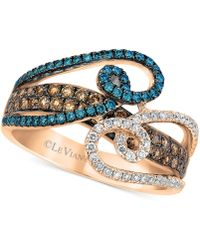 Le Vian - Exotics® Diamond Statement Ring (1 Ct. T.w.) In 14k Rose Gold - Lyst