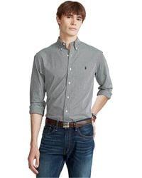 Polo Ralph Lauren - Classic-fit Plaid Stretch Poplin Shirt - Lyst