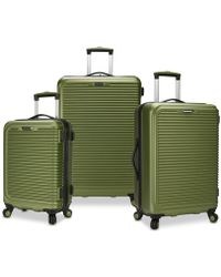 Elite Luggage Travel Select Savannah 3-pc. Hardside Spinner Luggage Set, Created For Macy's - Green