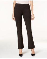 Nine West   Pull-on Straight-leg Pants   Lyst