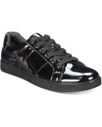 INC International Concepts - Spyke Patent Lace-ups, Created For Macy's - Lyst