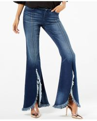 INC International Concepts - Frayed Tulip-hem Jeans, Created For Macy's - Lyst
