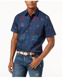 American Rag - Firework Shirt, Created For Macy's - Lyst