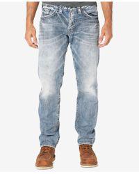 Silver Jeans Co. Men's Eddie Jeans - Blue