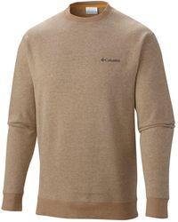 Columbia Hart Mountain Ii Fleece Sweatshirt - Brown