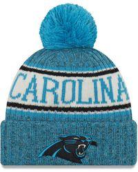 KTZ - Carolina Panthers Sport Knit Hat - Lyst
