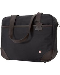 Token Hudson Waxed Shoulder Bag - Black