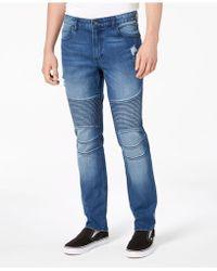 American Rag - Slim Fit Moto Stellar Jeans, Created For Macy's - Lyst