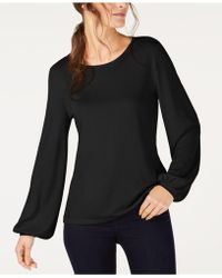 INC International Concepts - I.n.c. Balloon-sleeve Sweatshirt, Created For Macy's - Lyst