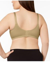 Bali Double Support Tailored Wireless Bra 3820 - Natural