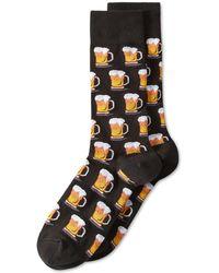 """Hot Sox - Men's """"beer"""" Socks - Lyst"""
