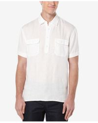 Perry Ellis - Double-pocket Popover Shirt - Lyst