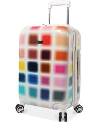 """Steve Madden - Cubic 20"""" Expandable Carry-on Hardside Suitcase - Lyst"""