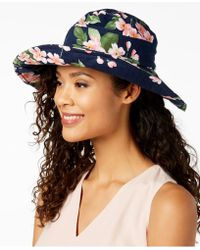 INC International Concepts - I.n.c. Floral-print Floppy Hat, Created For Macy's - Lyst