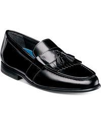Nunn Bush Denzel Kiltie Tassel Loafers - Black