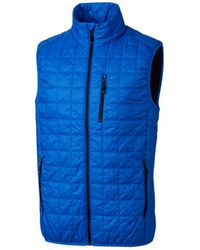 Cutter & Buck Big & Tall Rainier Vest - Blue