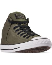 d813ced85729 Converse - Chuck Taylor All Star High Street High Top Uniform Canvas Casual  Sneakers From Finish