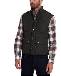 Barbour Lowerdale Quilted Vest - Green