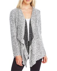 Vince Camuto - Drapey Open-front Cardigan - Lyst