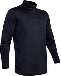 Under Armour Men's Ua Sweaterfleece 1⁄2 Zip - Black