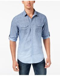 INC International Concepts - Cotton Shirt, Created For Macy's - Lyst