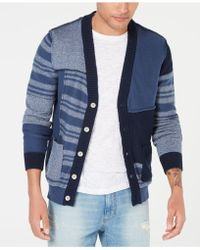 American Rag - Colorblocked Striped Cardigan, Created For Macy's - Lyst
