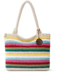 The Sak Crafted Essentials Crochet Large Tote, Created For Macy's - Multicolor