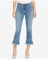 William Rast - Kick-flare Ankle-length Jeans - Lyst