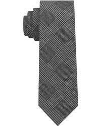 Michael Kors - Statement Check Slim Tie - Lyst