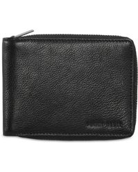 Perry Ellis Portfolio Wallet PASSCASE Flip Up Id Windows Currency Pocket $39.50