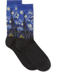 Hot Sox - Starry Night Trouser Socks - Lyst