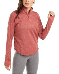 Nike Element Sphere Half-zip Running Top - Red