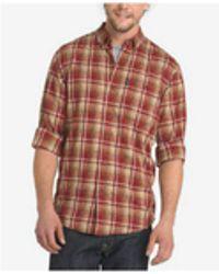 G.H.BASS - Men's Madawaska Trail Plaid Flannel Shirt - Lyst