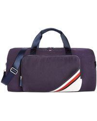 Tommy Hilfiger Colin Corporate Stripe Duffel Bag - Blue