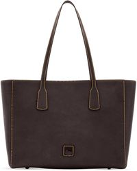 Dooney & Bourke Florentine Vachetta Leather Ashton Tote - Black