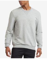 Kenneth Cole Reaction - Embossed-logo Sweatshirt - Lyst
