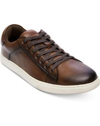 Steve Madden - Ruler Leather Low-top Sneakers - Lyst