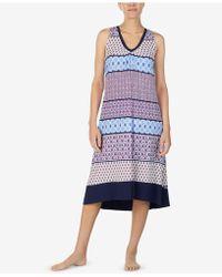 Ellen Tracy - Printed Ballet Nightgown - Lyst
