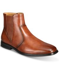 Alfani Luxe Chelsea Boots, Created For Macy's - Brown
