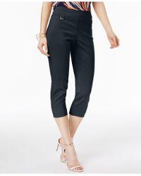 Alfani - Skinny Pull-on Capri Pants - Lyst