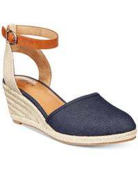 05ecab3b7f4 Lyst - Style   Co. Xenaa Platform Espadrille Wedge Sandals