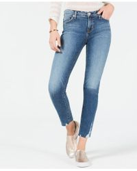 Hudson Jeans - Skinny Cropped Jeans - Lyst