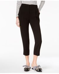 Weekend by Maxmara - Dono Cropped Straight-leg Trousers - Lyst