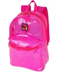 PUMA Total Clear Backpack - Pink
