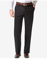 Dockers - Men's Signature Classic-fit Khaki Flat-front Stretch Pants - Lyst
