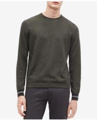 Calvin Klein - Tipped Sweater - Lyst